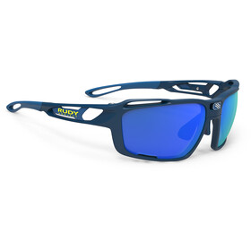 Rudy Project Sintryx Lunettes, blue navy matte - polar 3fx hdr multilaser blue